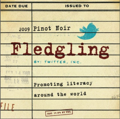 Twitter's Fledgling Wine launches