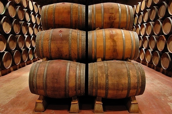 Classes of Barrels for wine