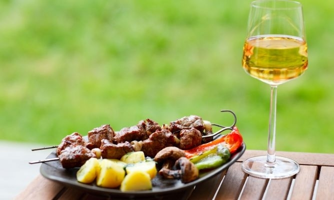 Wines for a barbecue