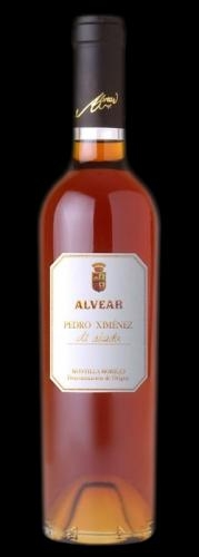 New wine with 100 Parker points : Alvear Pedro Ximenez 2011