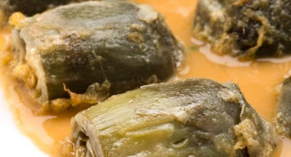 Breaded Artichokes with Spanish sauce