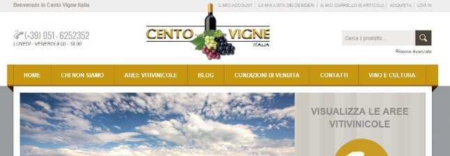 Shops that sell in Uvinum: Cento Vigne
