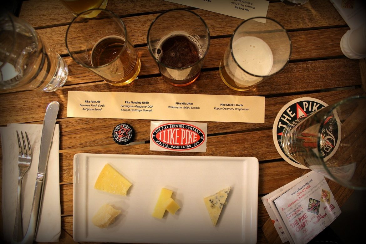 Is it easier to pair cheese with beer than with wine?