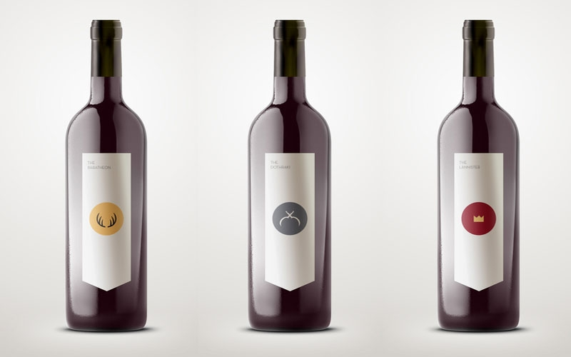 Wines inspired in TV series