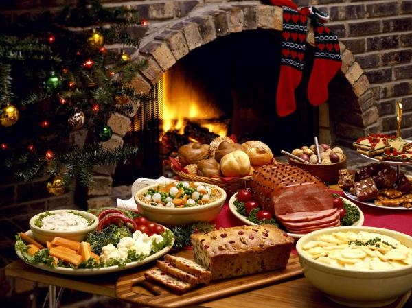 Christmas dinners in Europe