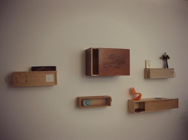 Ideas to recycle your wine boxes