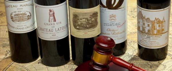 Wine bottles that worth a year's salary