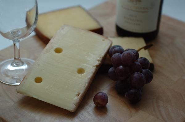 Why does the wine taste better with cheese?