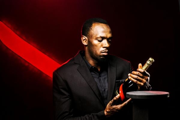 Elite athletics and champagne go hand in hand thanks to Usain Bolt and Mumm