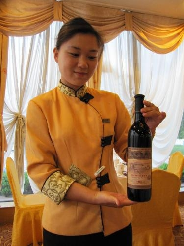 China, wine tasters with world power