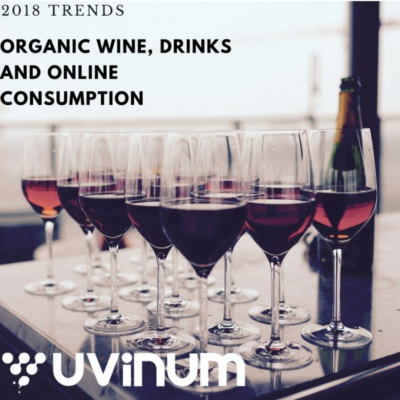 Organic Wine, Drinks and Online Consumption: 2018 Trends