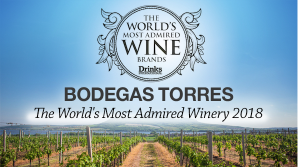 Bodegas Torres: The World's Most Admired Winery 2018