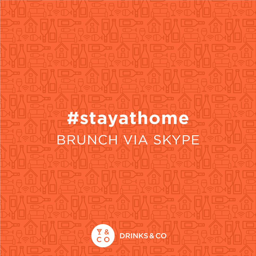 Aperitif in front of the screen #stayathome