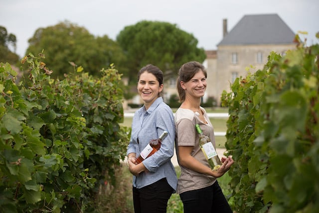 Women in wine, sisters Marie-Caroline and Anne-Cécile Rozier
