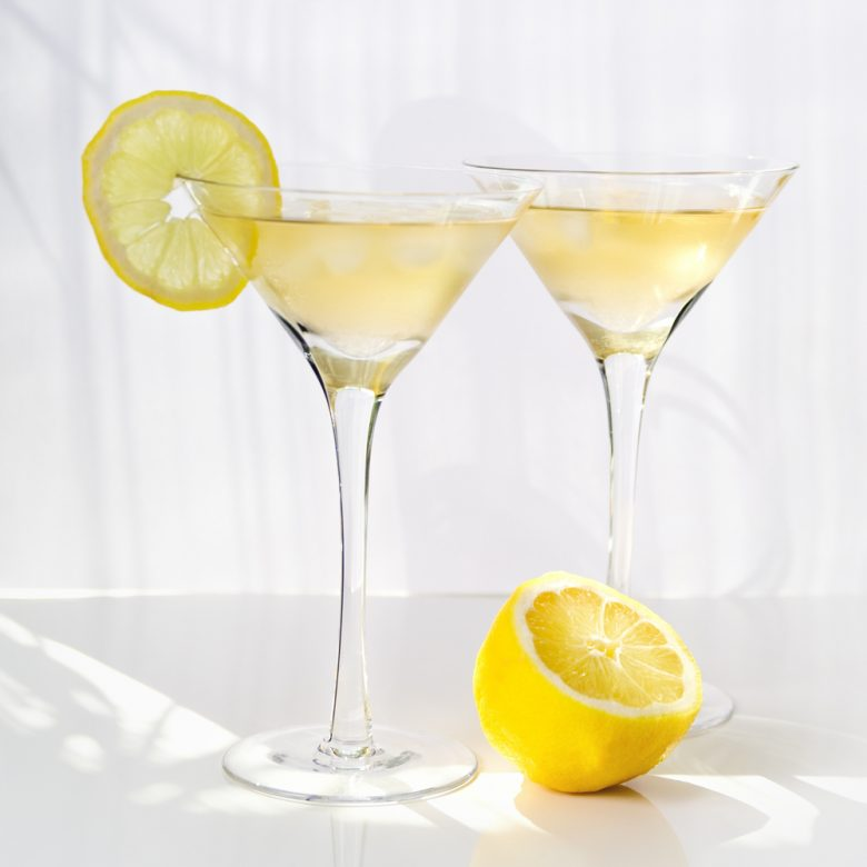 Lemon deception cocktail