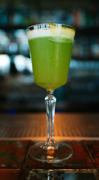 Green Minari cocktail