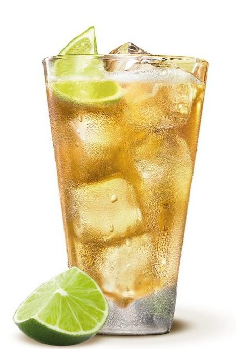 Jameson, Ginger Ale and Lime