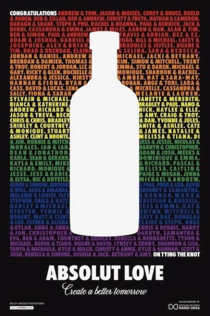 Absolut Love Campaign