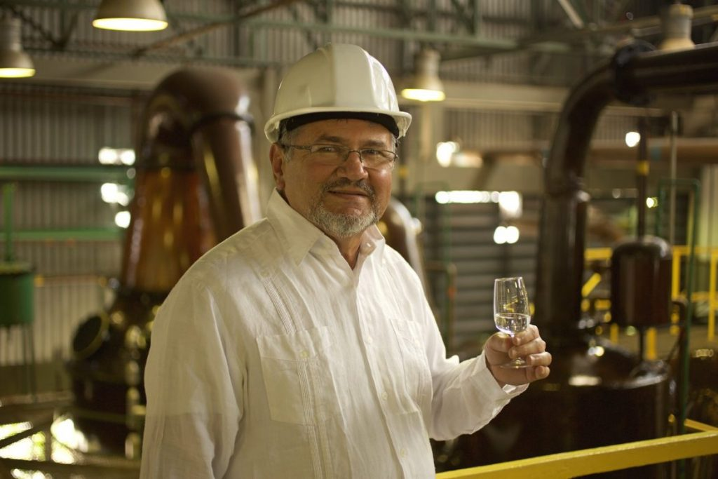 Nelson Hernández, master rum maker at Ron Diplomático